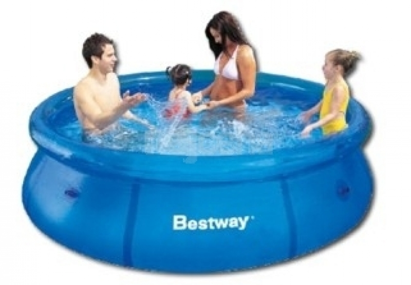 swimming pool bestway 244x66cm shoppingplanet. Black Bedroom Furniture Sets. Home Design Ideas